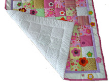 Quilt Patchwork Kinderdecke Emely 3